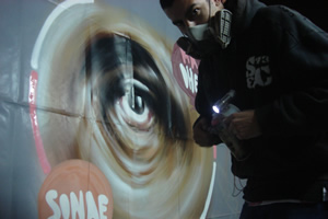 SONAE Light Graffiti 2010